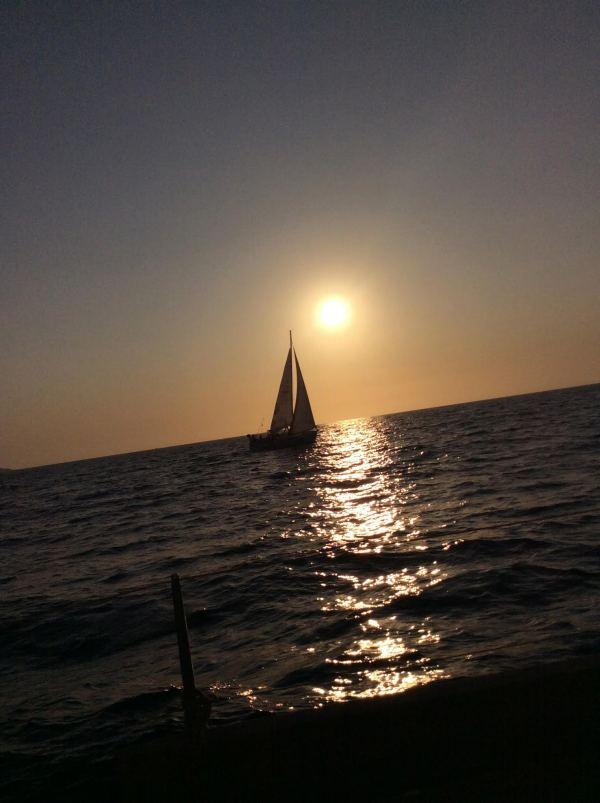 Un tramonto per Dima